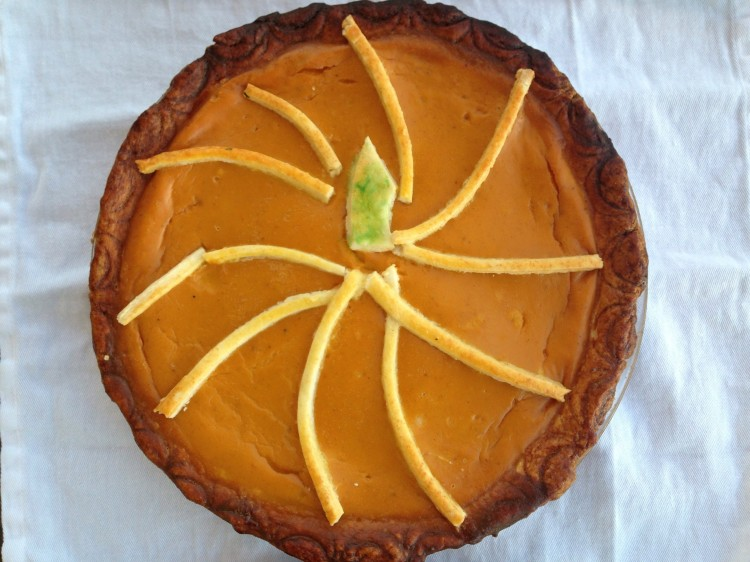 Tommy's pumpkin pie